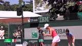 法网女单资格赛第二轮 拉扎诺VS阿尔比 第二盘