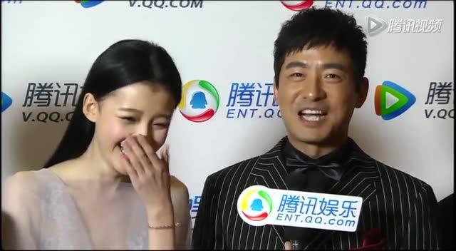 北京电影节腾讯独家采访 郭晓冬与小萝莉生情愫截图图片