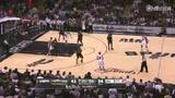 视频:14日最佳助攻 帕克360度转身假投真传