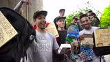 视频:高难度!牛人滑板疯狂刷街 秀空翻技能