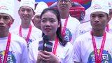 视频:武汉站厨子组团跑步 拿着菜刀跑向里约
