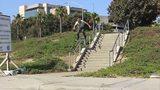 视频:滑板牛人不走寻常路 无惧空翻栏杆台阶