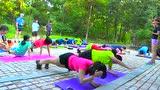 跑步训练营教你如何加强腹部肌肉核心训练
