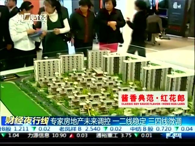 专家房地产未来调控 一二线稳定 三四线微调截图