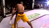 UFC无限制格斗神腿王 迎面狠踹PK重力回旋腿