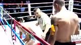 泰拳顶级高手最惨烈KO 连环重拳毫无招架之力