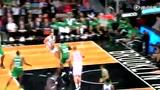视频:篮网快攻行云流水 米尔扎助攻梅森接扣