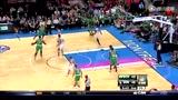 视频:巴斯双手垂坠补扣 绿衫军完美里应外合