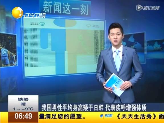 中国男性平均身高矮于日韩 全球排名32截图