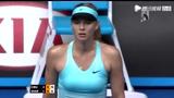莎娃VS齐布尔科娃第二盘 填坑失败遭对手扳平