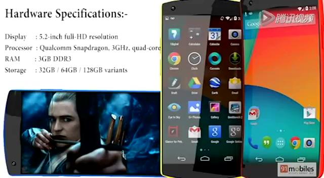 Nexus 6概念视频:柔性屏幕可拍摄4K视频