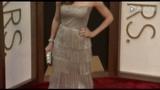 第86届奥斯卡红毯 桑德拉·布洛克深蓝优雅 安吉丽娜·朱莉金属亮眼