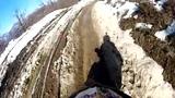 极限摩托年度艰难骑行PK 牛人撞爆碎石泥浆打滚