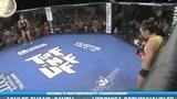 女子MMA五秒重拳KO 对手遭暴击当时就给跪了