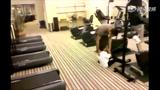 视频:跑步机上搞笑大事记 屌丝健身欢乐多