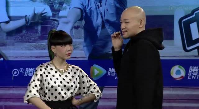 《好声音》腾讯首映礼 李代沫对吴莫愁狂放电截图