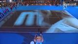 视频:女官员捧女单奖杯入场 决战一触即发