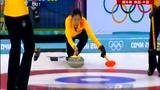 女子冰壶另一赛场 中韩队员美貌大PK惊艳赛场