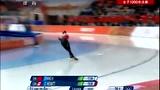 速度滑冰女子1000米决赛 张虹夺项目历史首冠