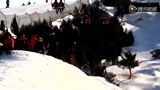 第一届JBMC滑雪赛 超刺激单板雪中炫技