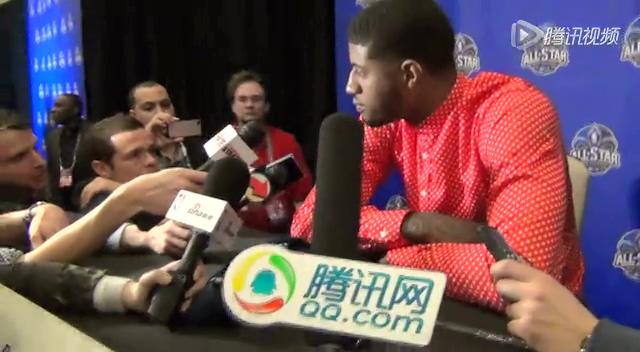 专访乔治:平时很关心詹皇 两大传奇伴我成长截图