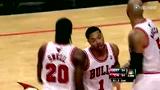 视频:罗斯读秒单打1挑4 空中零重心打板2+1