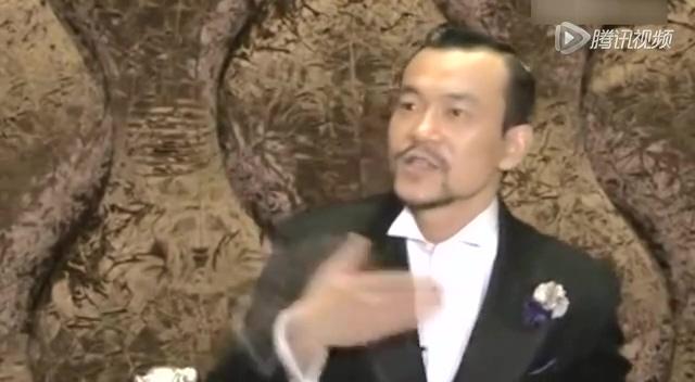 影帝廖凡受访激动哽咽:我曾经很低迷截图