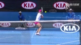 视频:李娜五佳球 扣杀接网前放短拿关键赛点