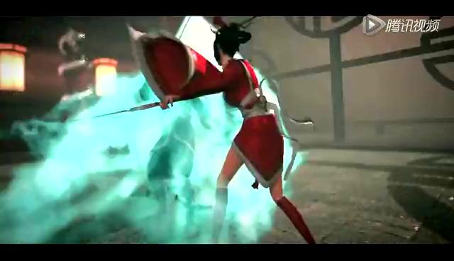 英雄联盟3d格斗动画 艾欧尼亚 血色月光 截图