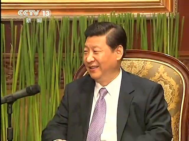习近平:两岸政治分歧问题终归要逐步解决截图
