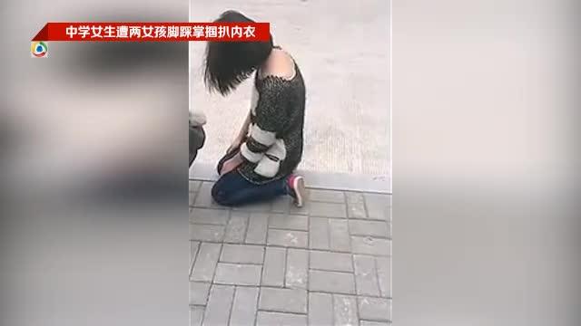 州初中女生打架扒衣_中学女生遭扒衣扯胸罩 两涉案女孩因未成年未被拘