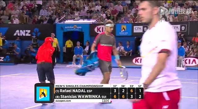 视频:瓦林卡大力击球压迫对手 网前巧妙得分