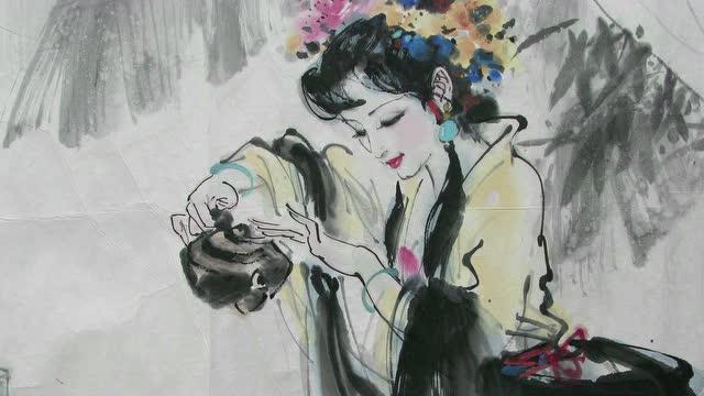 【稷下学宫】之重阳节胡谭珠老师吟诵《醉花阴》截图