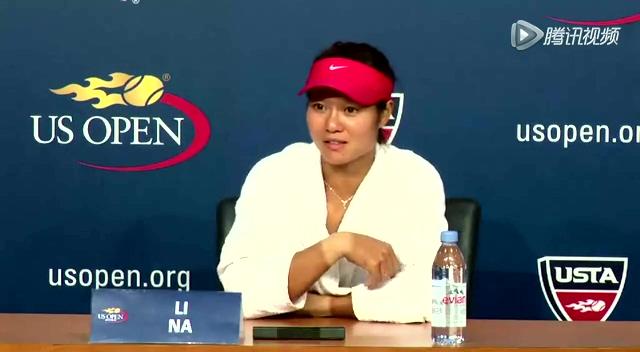 德约科维奇和李娜谈及美国网球公开赛