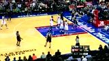 视频:KG老当益壮抢板助攻 洛佩兹突破打2+1