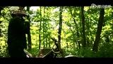 狂野摩托车森林变奏曲 穿行山坡树林放荡不羁