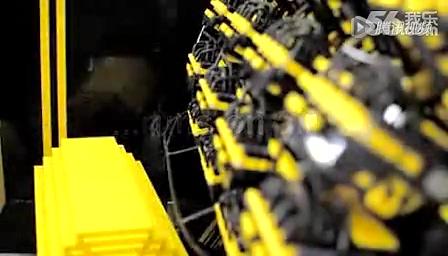 牛人用50万片乐高积木拼装可以开的汽车截图
