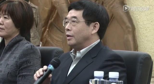 郎平回答记者提问截图