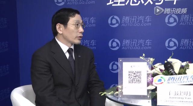 广汽菲亚特副总经理闫建明截图