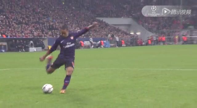 进球视频:阿森纳快攻趁虚而入 吉鲁包抄打门得手截图