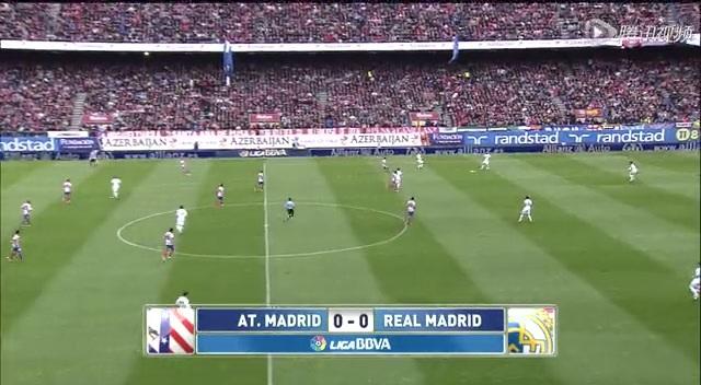 全场回放:西甲第33轮 马德里竞技vs皇家马德里 上半场截图