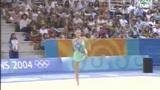 卡巴耶娃雅典奥运会球操表演 普京宝贝艳冠群芳