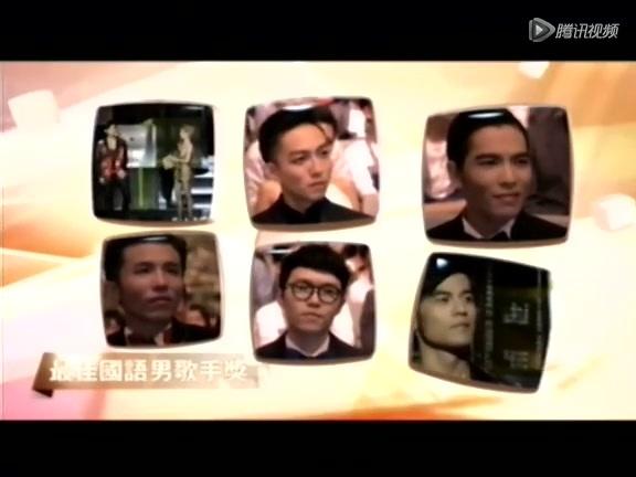 萧敬腾获最佳国语男歌手 高呼:我很爽!