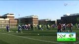 视频:东疆湾沙滩杯天津青少年5人制足球赛