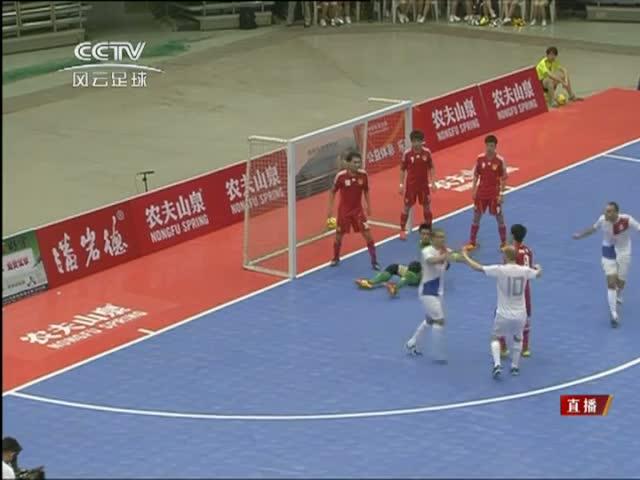 全场集锦:中国1-3不敌荷兰 胡杰建功难救主