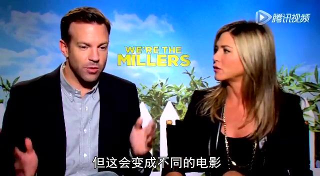 专访《冒牌家庭》男女主角安妮斯顿与杰森截图