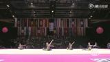 日本美女球操表演美轮美奂 超柔软身姿活泼灵动