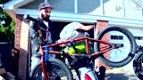 BMX小轮车野外最牛搭载装备 重甲摩托达人炫技必备