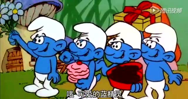 《蓝精灵2》中文主题曲MV《蓝精灵之歌》截图