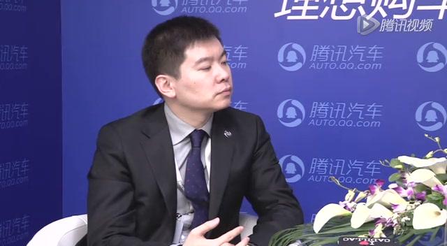 上海通用汽车凯迪拉克市场营销品牌总监 刘震截图